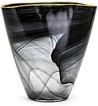 Imax Goldsby Glass Vase, Black