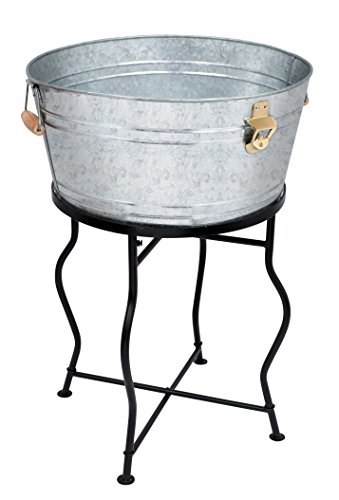 BirdRock Home Beverage Tub with Stand