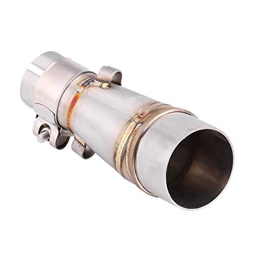 Tubo de Enlace Intermedio de Escape - BiuZi Accesorios de Sistema de Escape de Conector de Adaptador de Tubo de Enlace de Silenciador de Escape de Motocicleta for Z250 250 13-16