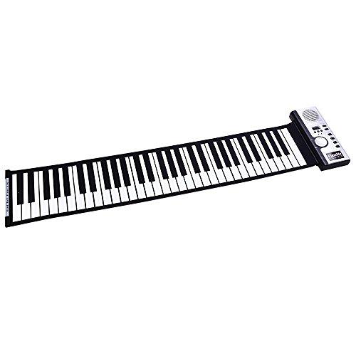 Flexibles 61 Schlüssel-weiches bewegliches elektrisches Digital Roll-up-Tastatur-Klavier