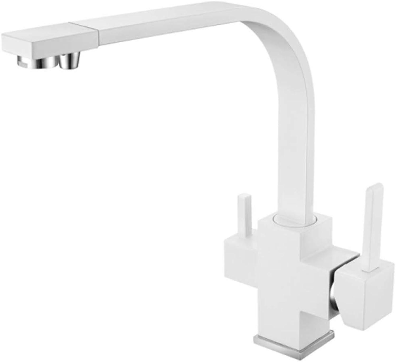 Swivel Washroomcopper Bathroom Basin Kitchen Taps Square
