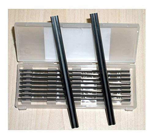 10Stück x 82mm, Tungsten Carbide Planer Klingen für Makita, Black & Decker, Bosch, Dewalt, ELU Hobel-von-Industrie-/Ltd knife-point (50)