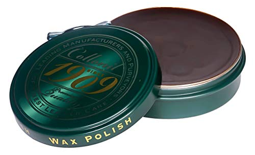 Collonil 1909 Wax Polish Schuhwachs dunkelbraun, 75 ml