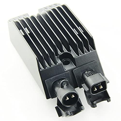 QIUXIANG Accesorios de Motocicleta Regulador de Voltaje Rectificador para Harley para Davidson...