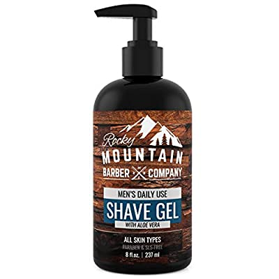 Men's Shave Gel Clear