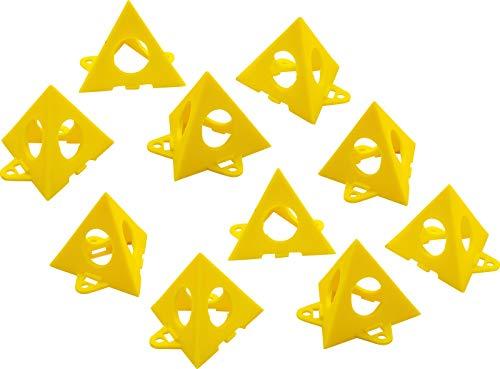 BGS Diy 85210 | Unterstellpyramiden für Anstreicharbeiten | 10 Stück