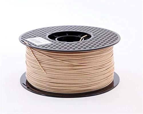 Auartmetion 1pc Legno PLA 2,85 Millimetri Stampante 3D Fibre di Legno di Colore 3D Printing Materiale PLA Legno 3D Pinter Filament (Taglia : Wood 500g)