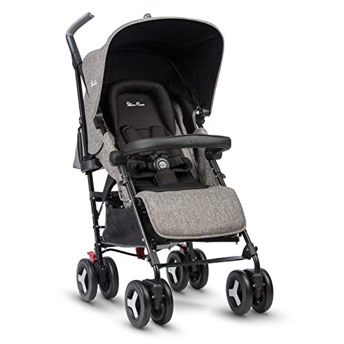 Silver Cross Reflex Stroller, Compact and Lightweight Fully Reclining Baby to Toddler Premium Pushchair – Brompton