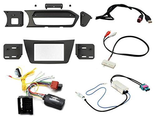 Connects2 Kit Completo para Mercedes Clase C W204 12-14