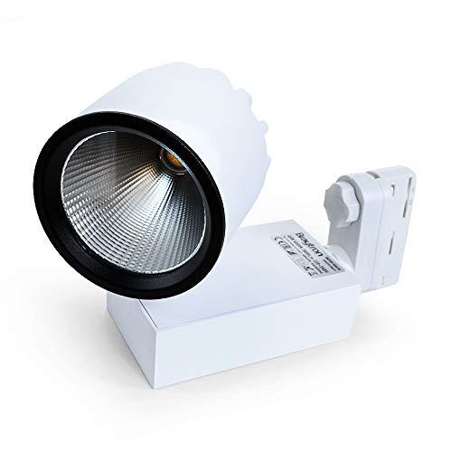 LED Schienen-Strahler 40 Watt | 3-phasig | weiß warmweiß (3000 K)