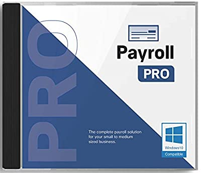 Payroll PRO payroll software for Windows 10 - CD - Includes 12 month license