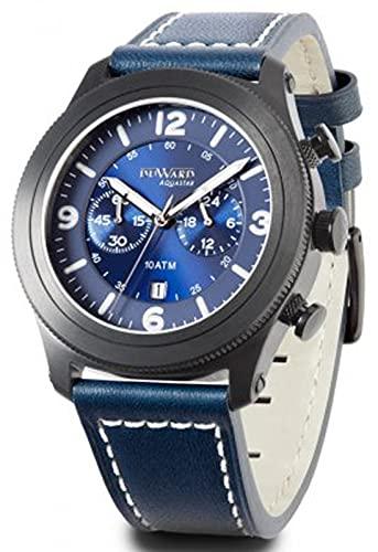 Duward aquastar hungaroring Reloj para Hombre Analógico de Automático japonés con Brazalete de Piel de Vaca D85528.55