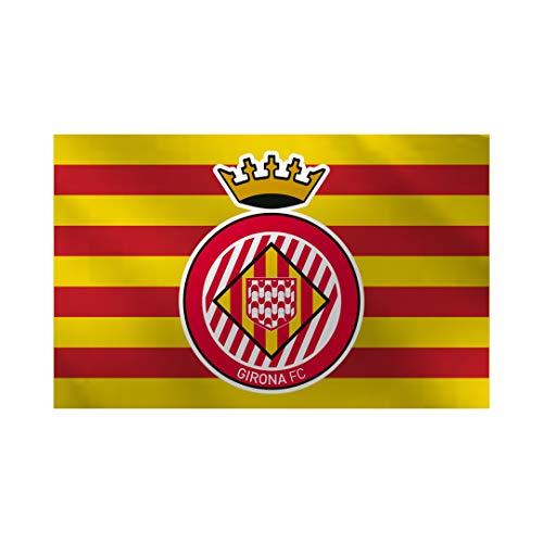 Girona FC Bandera Senyera Oficial Bandera Senyera Oficial, Unisex adulto, Rojo, no