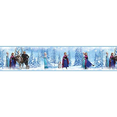 RoomMates Disney 's Frozen Selbstklebendes Wand Bordüre