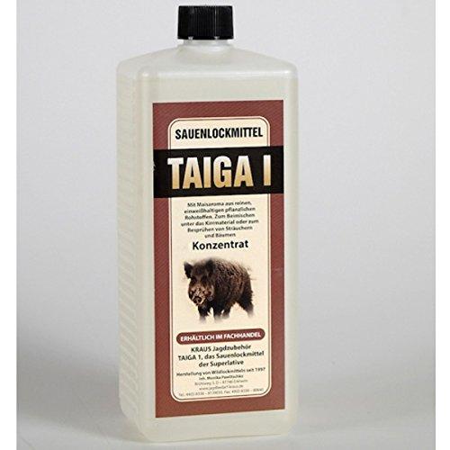 Atrayente de jabalíes profesional Taiga 100 ml concentrado muy productivo = 1 litro de atrayente natural para jabalíes con aroma de maíz