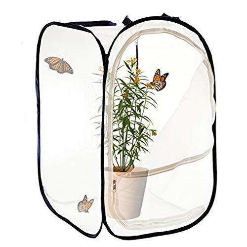 QI-CHE-YI Usine Mesh plié Shed Isolation, d'oiseaux et d'insectes Portable Net Couverture, Chambre Fleur Respirant Housse Papillon Net