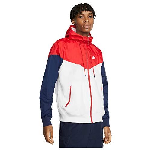 Nike Herren Sportswear Windrunner Jacke Weiß 2XL