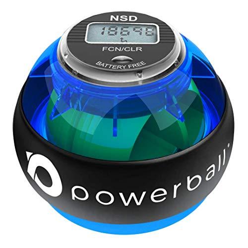 Powerball NSD 280Hz Appareil de renforcement pour Main | Outil d'Exercice pour Avant-Bras et Grip pour Un entraînement avec des Exercices isométriques (280Hz Pro)