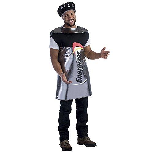 Dress Up America Déguisement de batterie Energizer pour homme