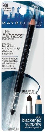 Maybelline New York Line Express Eyeliner, Blackened Sapphire 908, 0.035 oz