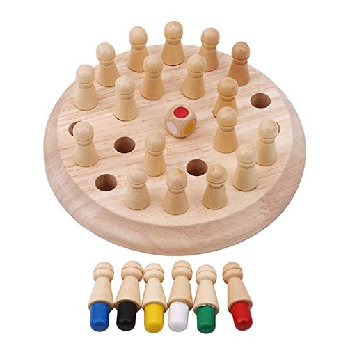 Jigsaw Puzzles I Bambini di Legno Memory Match Stick Scacchi Gioco Divertente Block Gioco da Tavolo educativo di Colore Cognitive capacità Giocattolo for i Bambini