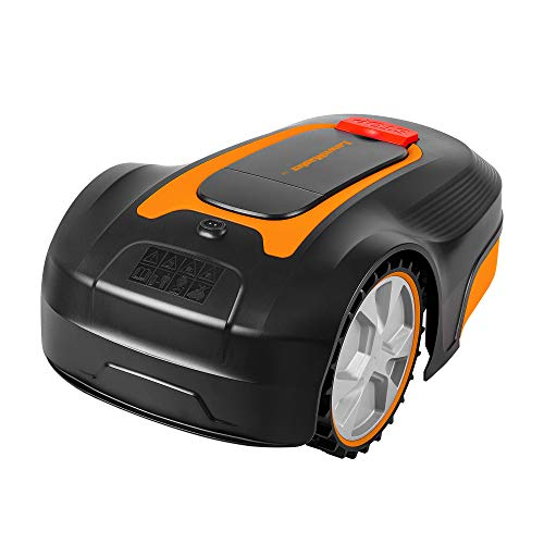 Lawnmaster L10 Robot Lawnmower 20V Max | Auto Charging Robotic Lawn Mower with 2.0Ah Lithium-Ion Battery for Lawns up to 400m² | 18cm Cut Width & 20-60mm Cutting Heights