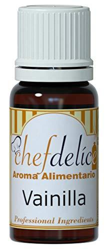 Chefdelice Chefdelice Aroma Concentrado Para Glaseados, Helados, Horneados Y Cremas Sabor Vainilla,...