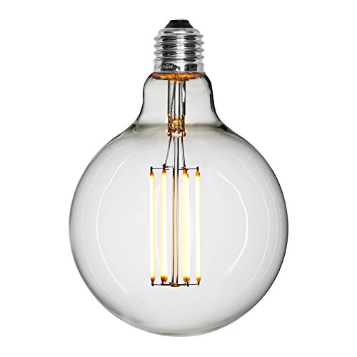 NUD Collection LED Leuchtmittel Straight/klassisch schnörkellos - 125mm - dimmbar - H:175 W:125 L:125 - E27