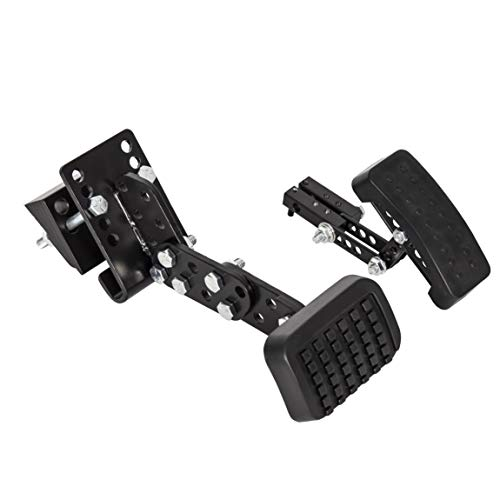 ECOTRIC Gas and Brake Pedal Extenders Enhancement Kit for Cars Go Kart Ride on Toys