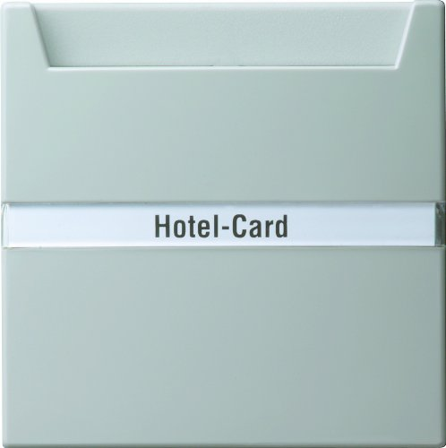 Gira 014042 Hotel Card knop label S-Color, grijs