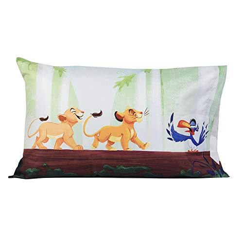 king pillow for kids The Lion King Standard Pillowcase for Kids - 20 X 30 Inch (1 Piece Pillow Case Only)
