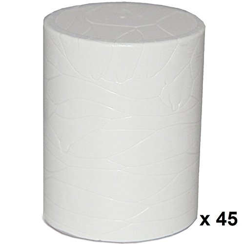 Karton 45 Patronen weiss Schmelzkleber KLEIBERIT 782.0 EVA Schmelzklebstoff zum Kanten leimen Möbelkanten Umleimer Supramelt