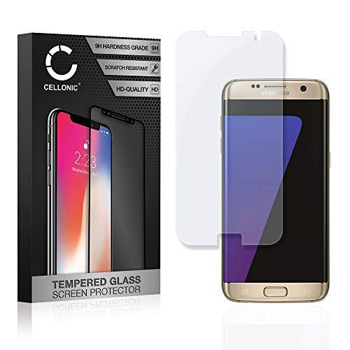CELLONIC® Cristal Protector de la Pantalla Compatible con Samsung Galaxy S7 Edge...