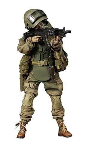 HSPHFX Estatua Modelo Ruso Lucha ángel niña Figura 1/6 12'Escultura de acción SWAT policía Camuflaje Juguete Militar Soldado muñeca con Rifle de Asalto Juego de Daga, cumpleaños