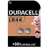 Duracell Pilas especiales alcalinas de botón LR44 de 1.5 V, paquete...