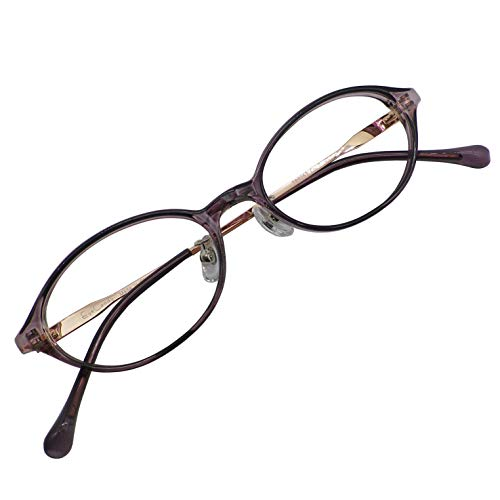 軽量 小型 ブルーライトカット 老眼鏡 シニアグラス リーディンググラス おしゃれ レディース 女性向け TR90 マルチコート BCカット TR 9263 C7 1.0