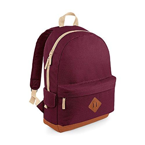 (Burgundy) - Heritage Backpack Burgundy