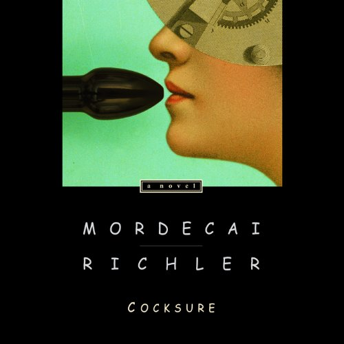 Cocksure audiobook cover art