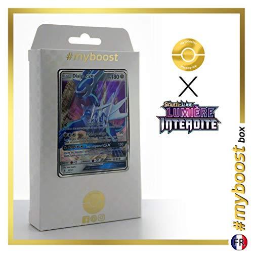 Dialga-GX 82/131 - #myboost X Soleil & Lune 6 Lumière Interdite - Coffret de 10 Cartes Pokémon Françaises
