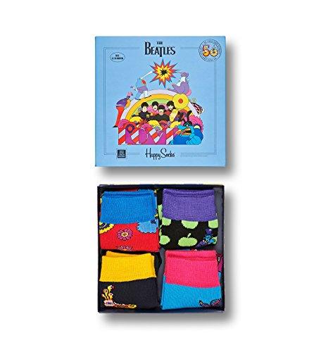 Happy Socks Beatles Sock Box Set 0-12M Kids Multi