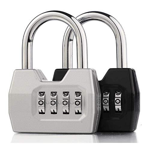 Password Lock Metal Padlock Locker Lock Door Lock 4 Digit Password Lock Anti-theft Lock