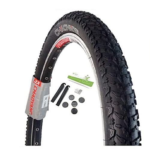 SAJDH Neumático De Bicicleta De Montaña 26 * 1.95 Neumático De Bicicleta, con Herramienta De Reparación De Neumáticos De Goma, 1 PC