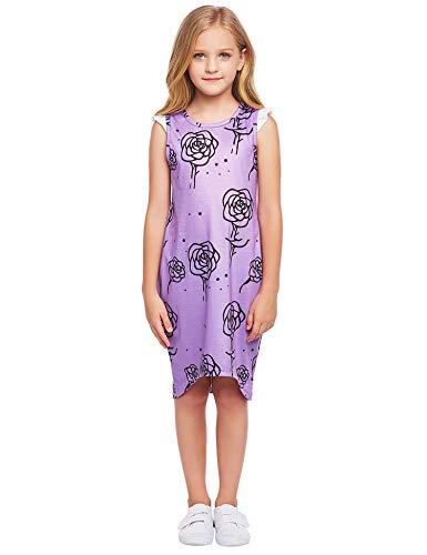 Bricnat Dziewczęca koszula nocna jednorożec koń krótki rękaw sukienka koszula nocna bielizna nocna dla dzieci sukienka nocna sukienka sukienka nocna lato ..