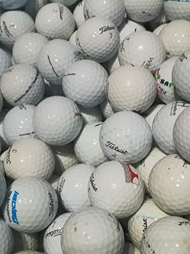 golf ball hunter - 100 Titleist NXT Tour gebrauchte Golfbälle Lakeballs AAA-AA Qualität T-3 (Weiß)
