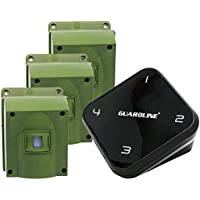 Guardline 1/4 Mile Long Range Wireless Driveway Alarm w/ Three Sensors Kit