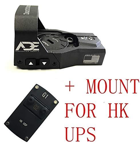 Ade Advanced Optics Zantitium RD3-015 Red Dot Reflex Sight for HK USP Pistol