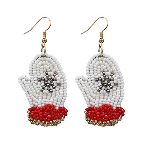 AQ89 Women Christmas Hook Drop Dangle Earring Charm Eardrop Jewelry Xmas Party
