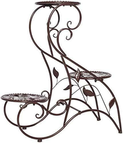 Macetero alto soporte plantas Soporte de flor de la planta europea soporte...