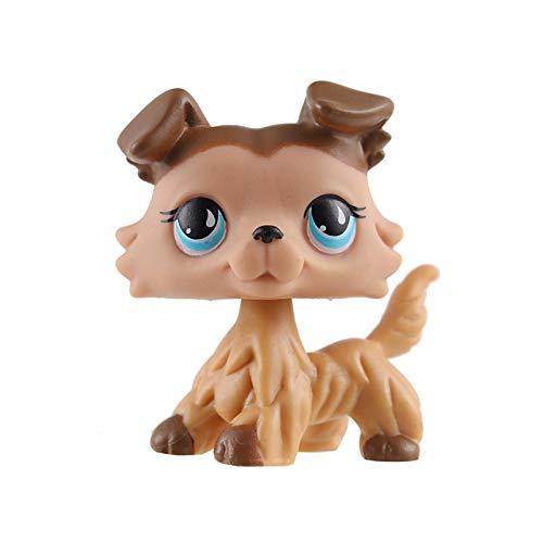 Pet Shop LPS Petit chat à poils courts pour chien primitif Teckel Berger Grand dane Collection Lover Enfants Cadeau de vacances