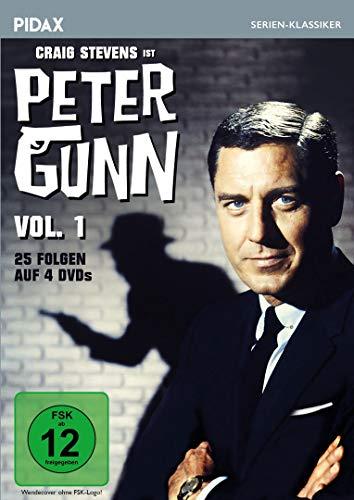 Peter Gunn, Vol. 1 / 25 Folgen der Kult-Krimiserie mit Craig Stevens (Pidax Serien-Klassiker) [4 DVDs]